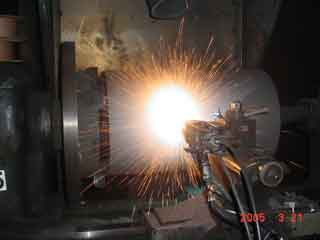 20 inch diameter Ram for hydraulic press